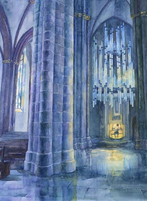 -Pfarrkirche St. Stephan- by RiEile