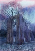 -Kloster Eldena- by RiEile