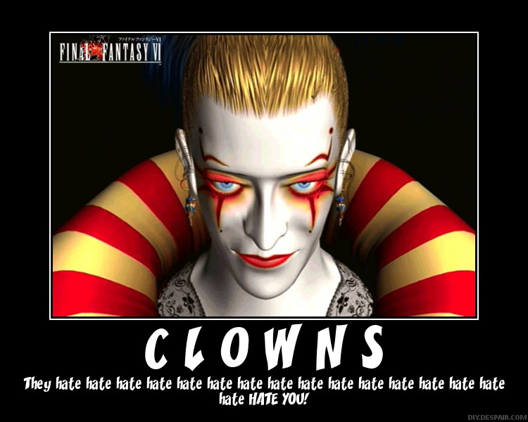 Motivational Poster-Clowns by ColdDraga