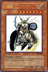 FF Yu-Gi-Oh-Odin by ColdDraga