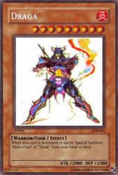 FFWiki Yu-Gi-Oh card-Draga by ColdDraga