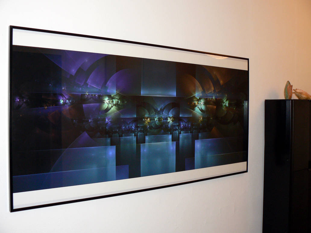 Entering Space Station 2 Print