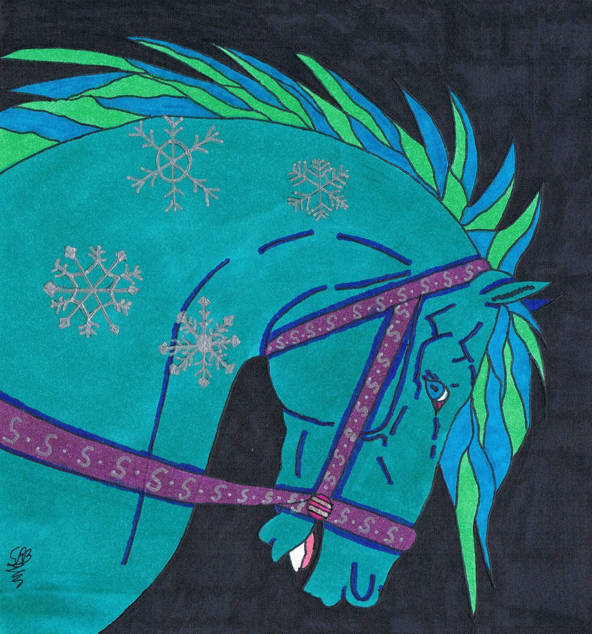 Winter Carousel Horse By Sblack397 On DeviantArt