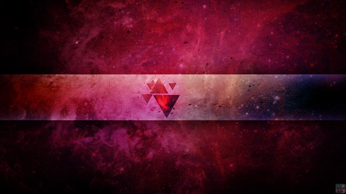 pink space wallpaper by beautyliz