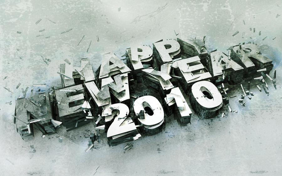 Happy Neew Year 2010 by ElSpaZo