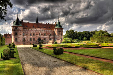 One castle - many moods - Egeskov castle, Denmark by aglezerman