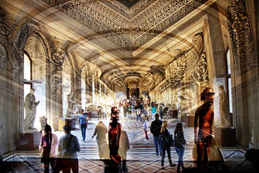 Louvre by aglezerman