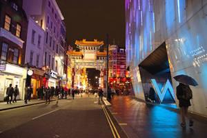 China town, London by aglezerman
