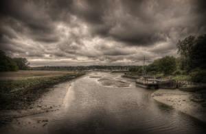 River Deben by aglezerman