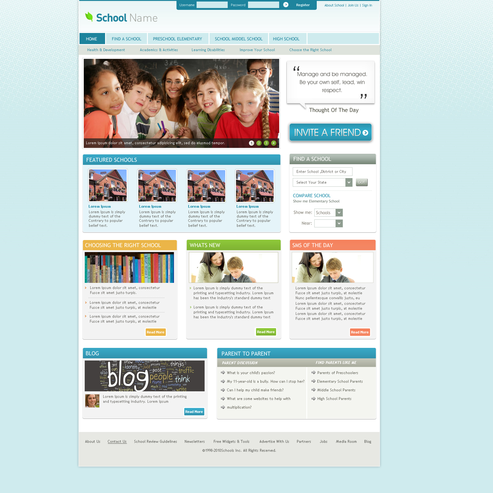Joomla Website Template by think360studio on DeviantArt