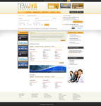 Job website template