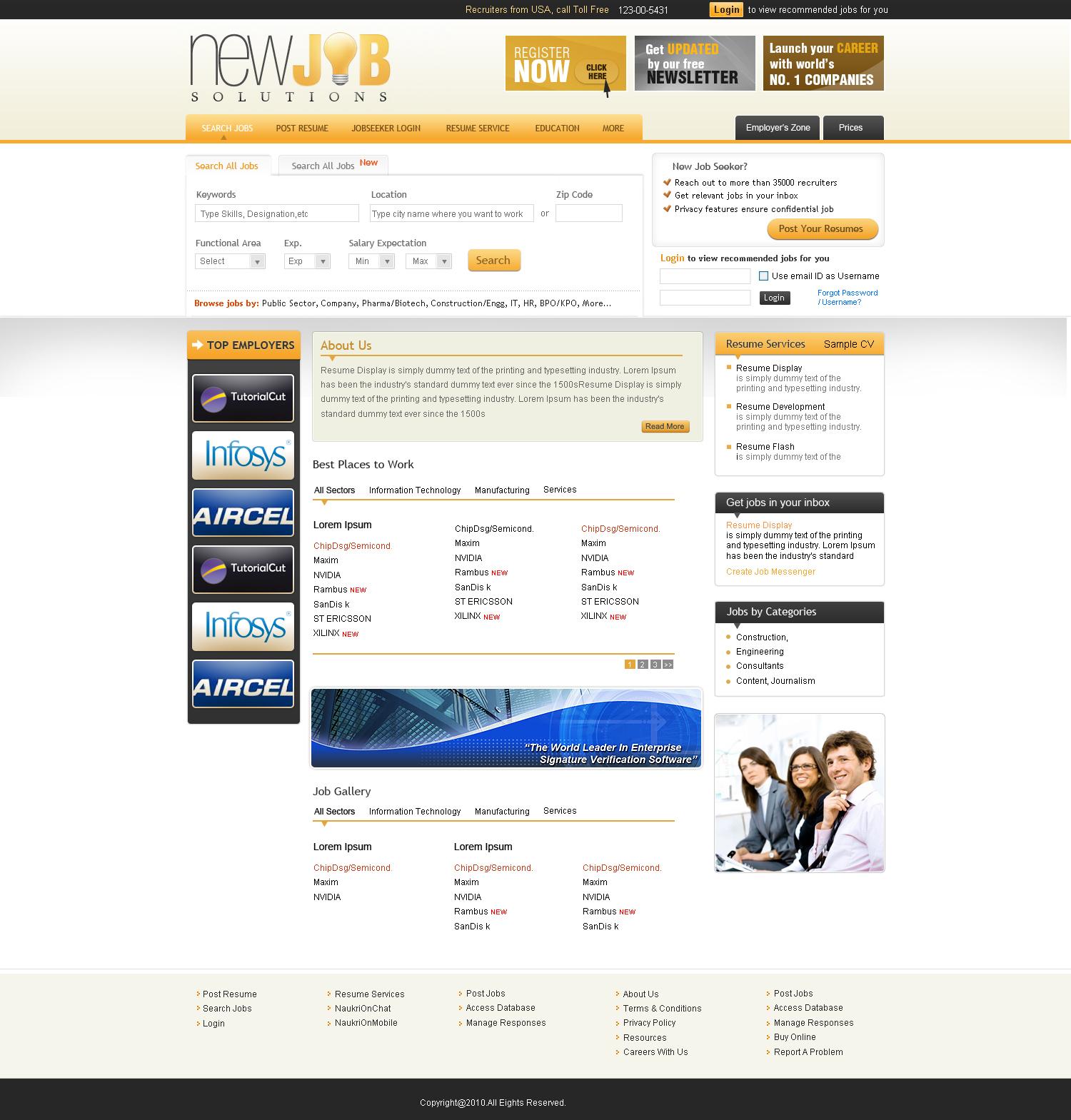 job website template by think360studio on deviantart. Black Bedroom Furniture Sets. Home Design Ideas