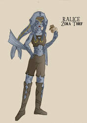 Ralice zora thief colour by Doofus-the-Cool