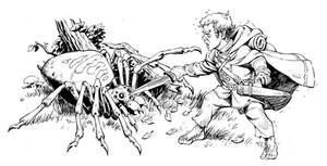 Bilbo Baggins vs. Spider