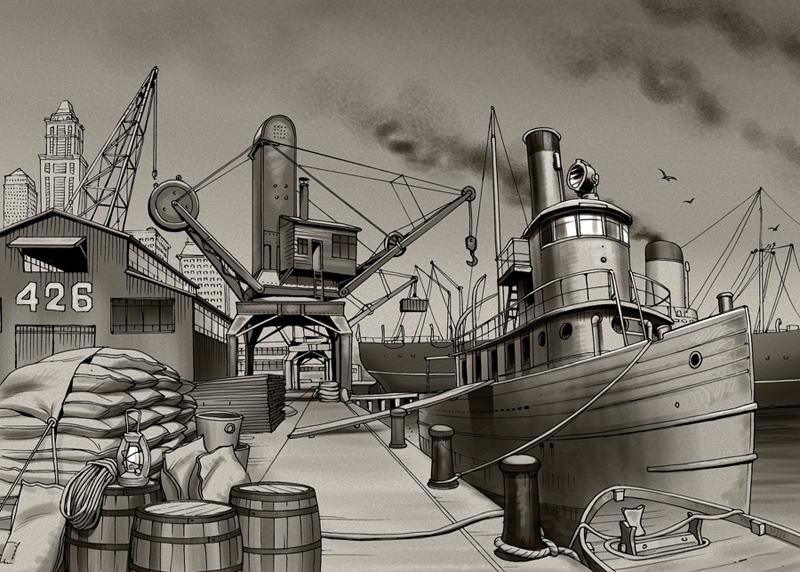Harbor by Lipatov