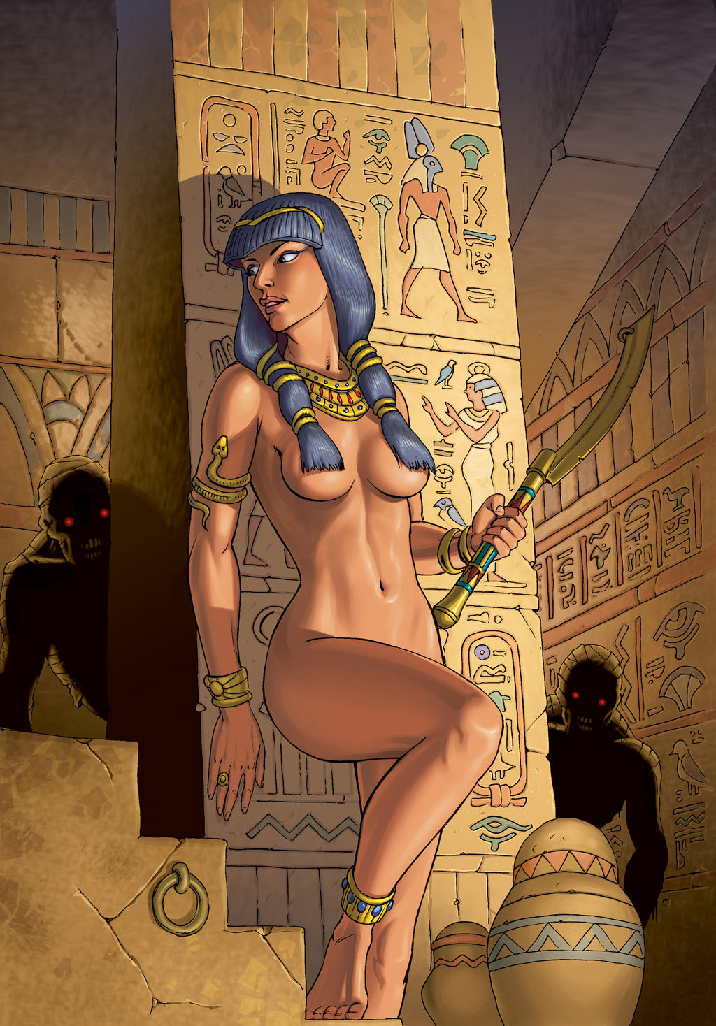 from Trent naked ancient egyptian girls