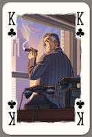 King of Clubs by Lipatov