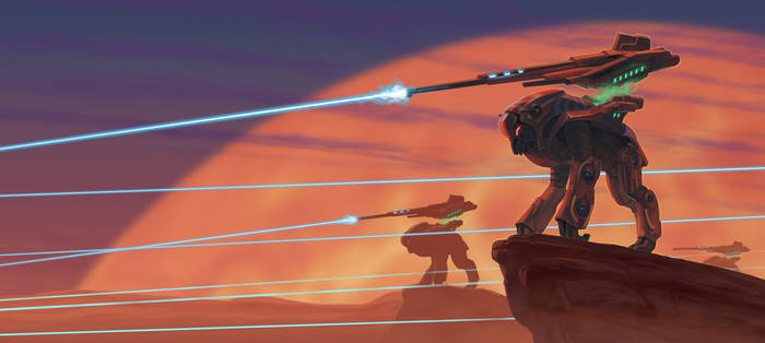 Mass Effect: Elcor Warriors by Lipatov