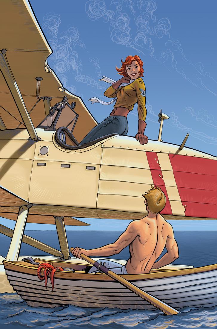 At sea by Lipatov