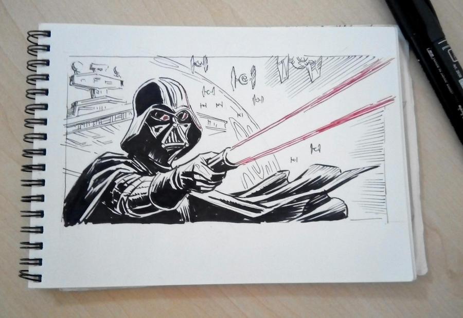 Sketch by Lipatov