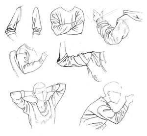 Sleeves sketch
