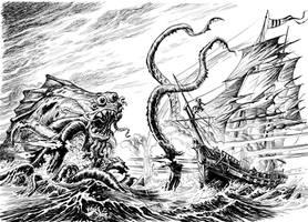 Paladins' Tales: Kraken battle