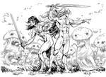 Paladins' Tales: Mushrooms Fight