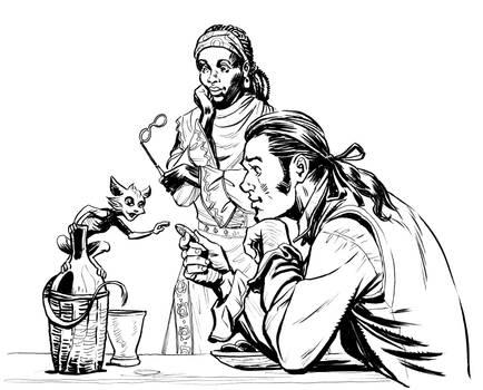 Paladins' Tales: a Wine Fairy