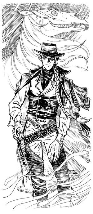 Elf gunfighter
