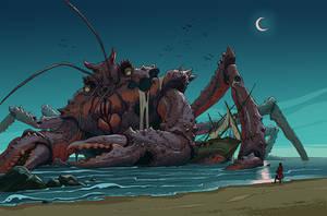 Paladins' Tales: Giant Enemy Crab