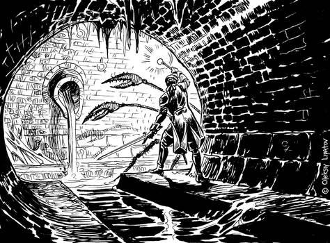 Inktober 2021 day 1: Paladins' Tales