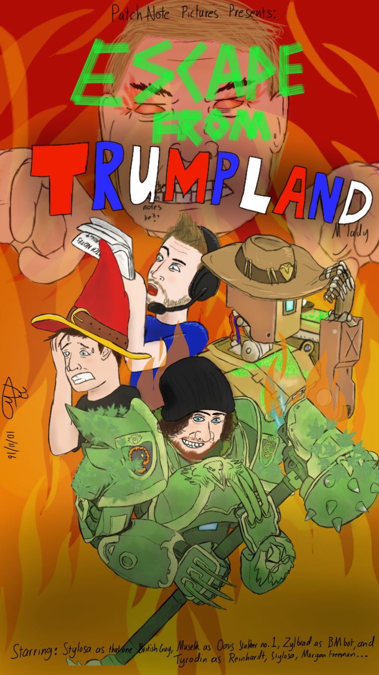 Escape from Trumpland by AntOnADog