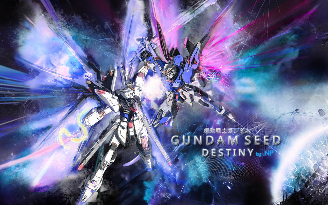 Gundam SEED Destiny by sasukenp