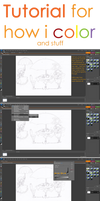 Tutorial 1 - how i color by tomoki-chan
