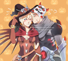 Gency Halloween by Day-Dream-Fever