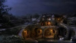 The Lake House night