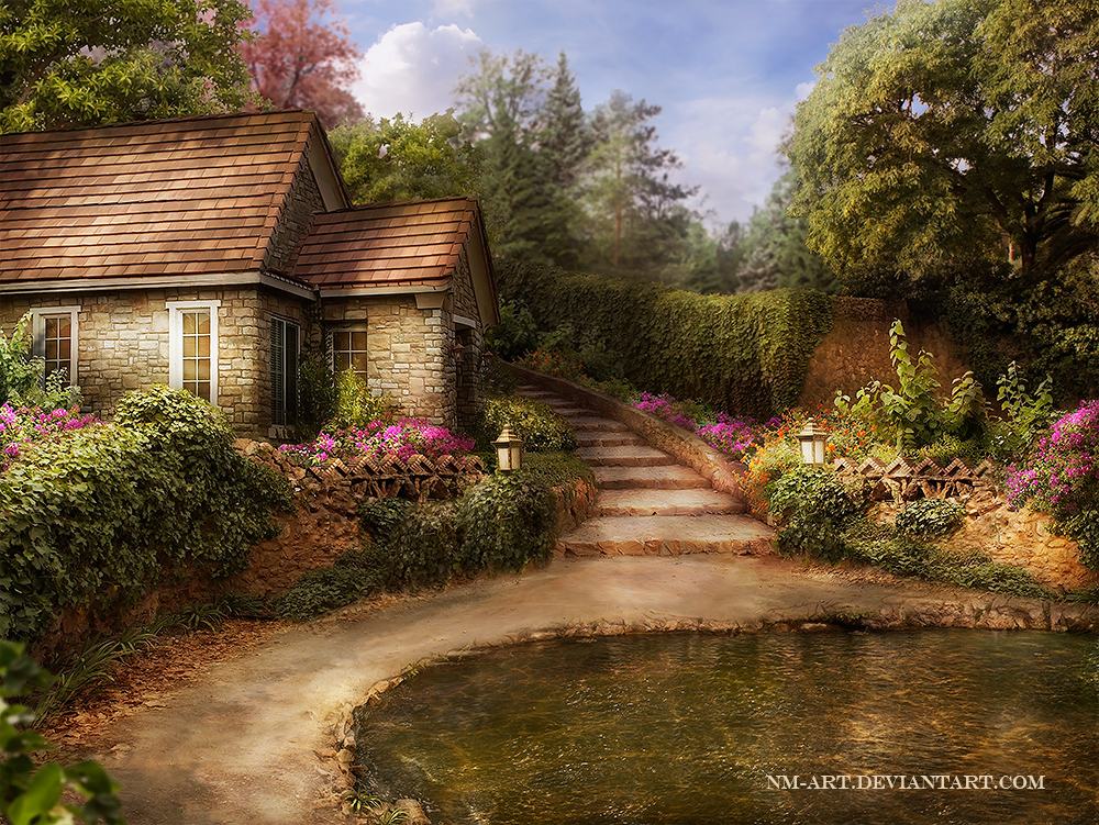 Home by nm art on deviantart for Paintings for home