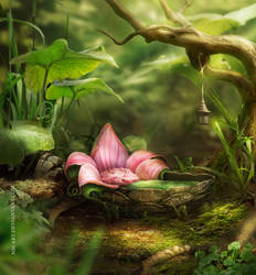 for Thumbelina by NM-art