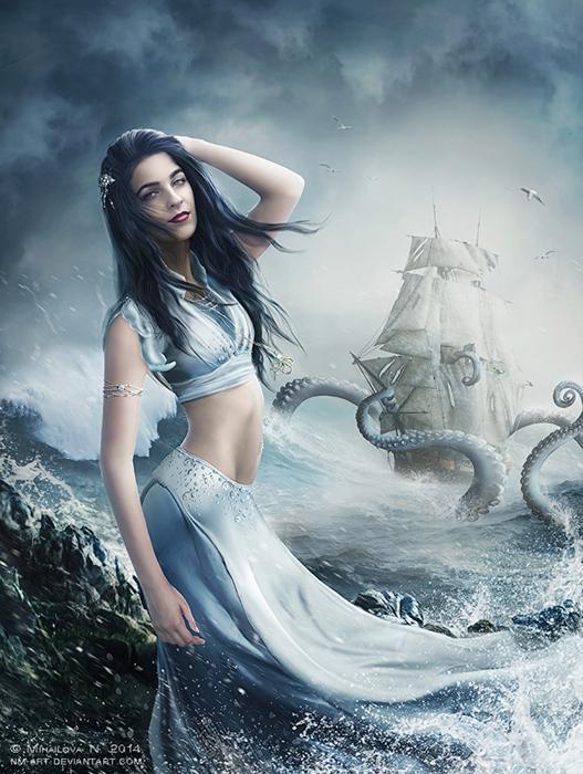 Kraken by NM-art