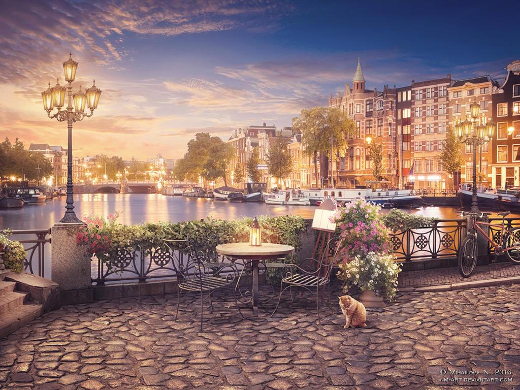 Amsterdam by NM-art