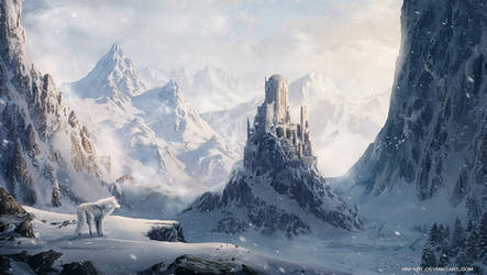 Winter castle by NM-art