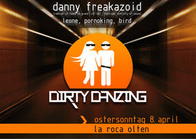 Dirty Danzing Party Flyer by pangy