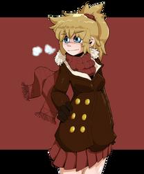 Civilian Anna (colorized)