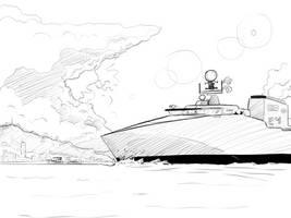 'Admiral Daftzanies' class Intiaperian corvette