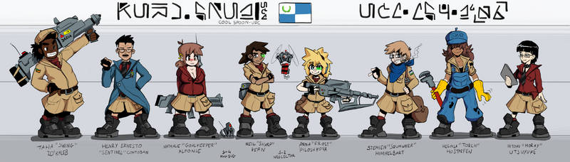Domundia - Cool Spoon Roster
