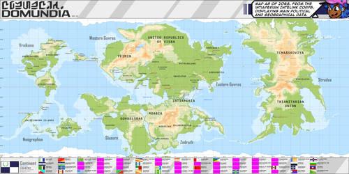 Domundia World Map 3.0 - Domundia Chronicles