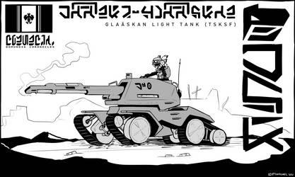 Tchaaskoviyan Shock Force - Glaaskan Light Tank