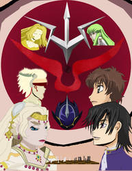 Code Geass Contest Entry by CrystallineDreamer