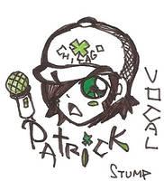 patrick-fall out boy by xGraceCx
