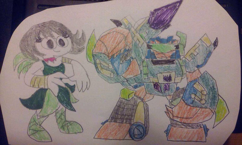 Portal Heroes Ashi vs Scorponok   by ZillaMan24